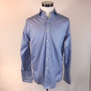 MICHAEL KORS CUFFLINK READY BUTTON UP